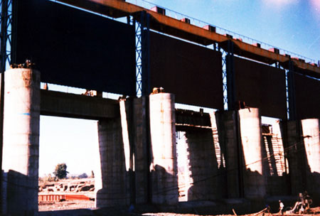 Vertical Lift Gate Spillway About Oregon Iron Spillway